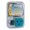 [GSM-RE220M/3] Protector Monofásico Exceline Enchufable Power Plug 220V