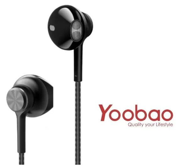 [44629] Audifono 3.5MM Yoobao-2 Negro